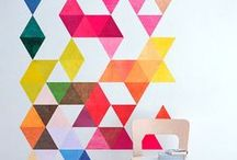 Wall Stickers and Decals / Fabulous ideas and inspiration for using wall stickers and wall decals in your home.