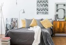 Bedroom Design & Decor Ideas / Fresh design ideas and inspiration for your bedroom decor, from furniture and soft furnishings, to wall colours and accessories. Everything you need to create your own beautiful bedroom design.