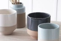 Ceramics / Every home needs ceramics! Mugs, plates, bowls, vases and more, you'll find them all here. This board features both affordable high street ceramic buys and designer pieces.