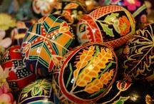 Ukranian Eggs at Greenville Inn