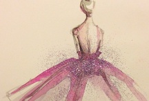 Apparel Illustration / art behind fashion / by kbg porter