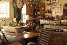 Prim Gatherings & Decor / Antiques, Old Pieces, Worn, Primitive Decor