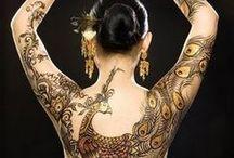Henna Pieces / Ink