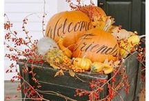 Fall Forward / Let mother nature's hues inspire your autumn decor.