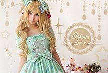 Lolita/ cute asian fashion / Kawaii / by Ashley Rohwer