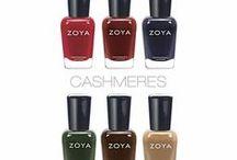 Cashmeres & Satins / Amerika'nın Dünyaca ünlü markası Zoya Oje'nin yeni koleksiyonu Cashmeres & Satins Türkiye'de!