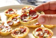 Bite Size . Party Food / Snacks and apps, for parties, game day and starters