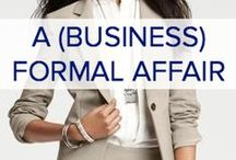 FORMAL BUSINESS STYLE