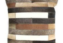 Bashian Home Cowhide Pillows / Introducing our new hides pillow collection.