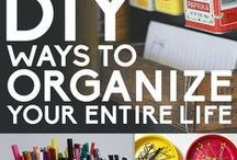 Organazation 101 / Helpful hints & tips to be more organized.