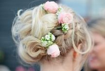 Wedding Inspiration {Hair} / Still searching for the perfect 'do for your wedding day? Get inspired by these gorgeous styles...