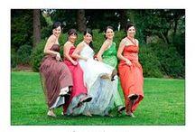 Wedding Inspiration {Bridesmaid's Dresses} / Mix it up! Beautiful bridesmaid's dresses to inspire...