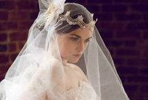Wedding Inspiration {Headpieces} / Feel like a princess on your wedding day...