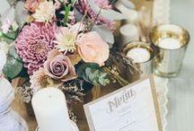 Wedding Inspiration {Table Décor}