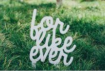 Wedding Inspiration {Signage Ideas} / Where to go, what to do... fun signage ideas for your wedding.