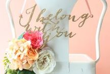Wedding Inspiration {Chair Covers}