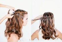 penteados / by sandra mara
