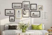 Gallery Wall Display Ideas / Want to create a gallery style wall of art, pictures or other objects in your home? On this board you'll find lots of ideas and inspiration, including layout guides to print out and follow.