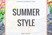 SPRING & SUMMER OUTFITS. / Spring and Summer style outfits and fashion.
