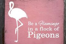Flamingo Home Design Trend / Sharing our love of the flamingo trend in home and interior design. Lots of contemporary and modern home ideas featuring flamingo designs, including cushions, chairs, bedding and wallpaper.