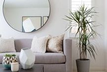 Living Room Design & Decor Ideas / A collection of fresh and contemporary design ideas and inspiration for decorating and furnishing your living room.