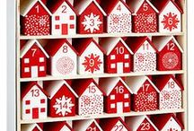 Advent Calendars for Christmas / Who doesn't love an advent calendar? Countdown to Christmas in style, with this ideas and inspiration for advent calendars, Including ready made advent calendars to buy, to make your own ideas and special advent pieces to treasure year after year.