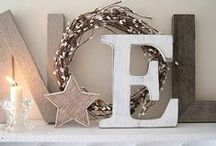 Nordic Christmas / Decorate your home in Scandinavian and Nordic style this Christmas