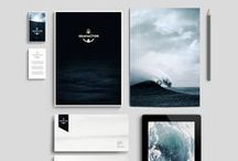 Branding & Identity / Handpicked collection of inspirational branding and identity projects and mockups for your next design project. // Take a look at my other design related boards for more inspiration on Graphic Design, Typography, Webdesign, Illustration and Photography.