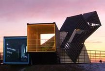 Architecture / Container / Handpicked and frequently updated collection of inspirational container architecture from all over the world. // Take a look at my other design related boards for more inspiration on architecture, design and photography.