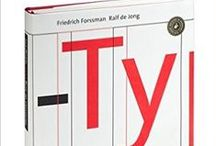 Typography Books / This is a constantly updated list of inspiring books on Typography – compiled by Graphic & Webdesigner Jan Erik Waider