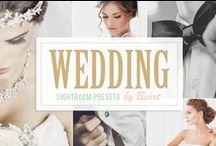 Wedding Design Resources / A collection of inspirational design resources and templates for your wedding: photos, illustations, fonts, invitation cards, website-templates, icons, stationary, Photoshop-Actions, Lightroom-Presets and many more for sale on Creative Market.