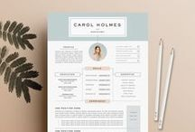 Resume Templates / Handpicked collection of well designed resume / CV templates for Microsoft Word and Adobe InDesign – Free and Premium resources.