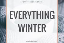 WINTER. / Everything Winter: cosy, hygge, comfort, advice