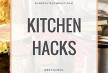 KITCHEN DIY & HACKS / Kitchen Hacks tips and tricks that you need to know.