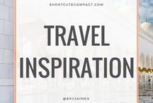TRAVEL INSPIRATION / Travel and travelling inspiration and articles.