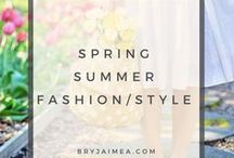 Spring, Summer Fashion & Style / Spring, Summer Fashion, style and outfits.