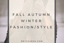 Fall, Autumn, Winter Fashion & Style / Fall, Autum, and Winter Fashion and Style outfits.