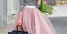 - TULLE OBSESSION - / I love tulle skirts and this is the easiest and most glamorous way to wear them! Lots of tulle outfit ideas and inspiration.