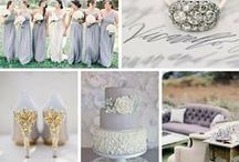 - LILAC & GREY WEDDING - / Lilac and grey wedding inspiration for the Bride, Bridesmaid, groom, decor and design.