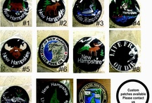 Patches / Custom made patches and Military patches, State Patches / by D F Custom Embroidery