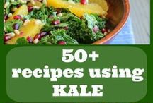 Kale and Romaine lettuce recipes