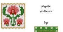 Giugurtina Patterns (peyote stitch) / Schemi per realizzare bracciali e pendenti in tessitura peyote