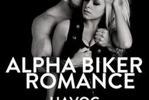 Havoc - MC romance, biker romance, bad boy romance. / Book 8 in Nina Levine's motorcycle club romance series, Storm MC Series. Books about bikers, alpha romance books bad boys, possessive romance.