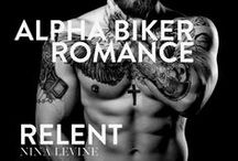 Relent - MC romance, biker romance, alpha romance / The first book in Nina Levine's mc romance series, Sydney Storm MC. Biker books motorcycle clubs romances, mc romance books series, biker books, alpha romance books bad boys #ninalevine #stormmc