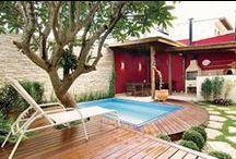 Áreas Externas / Inspirações para área externa, espaço gourmet e quintal.