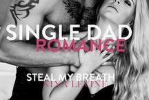 Steal My Breath - single dad romance novels, contemporary romance novels / A friends to lovers, single dad romance from Nina Levine. Alpha romance books, alpha male books, alpha male romance books, hottest romance books, alpha male stories, best alpha male romance books.