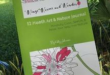 12 Month Art & Nature Journal / Check out my Newest book! The 12 Month Art & Nature Journal: Mindfully Color, Sketch, & Relax Your Way Into Nature! Get creatively connecting with nature today! It's a guided Nature Journaling journey I've been working on for 18 month! Get your copy here: https://www.createspace.com/6577633