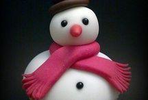 Christmas cakes/cupcakes