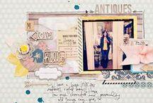 scrap les pages / by I love fabriquer des trucs par flo274563