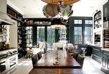 Kitchens / Cocinas. Decoración, estructura y espacios.